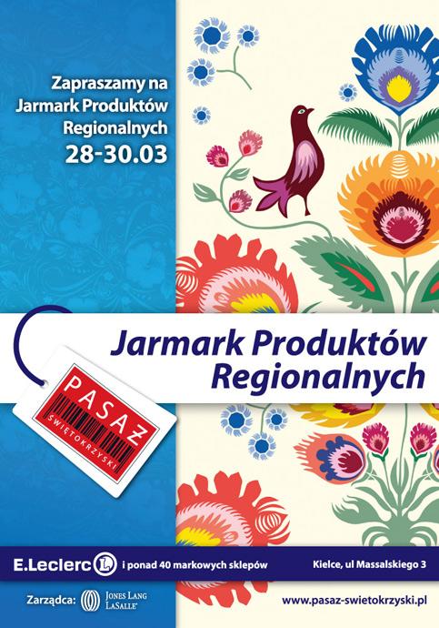 Jarmark Produktów Regionalnych – marzec 2014