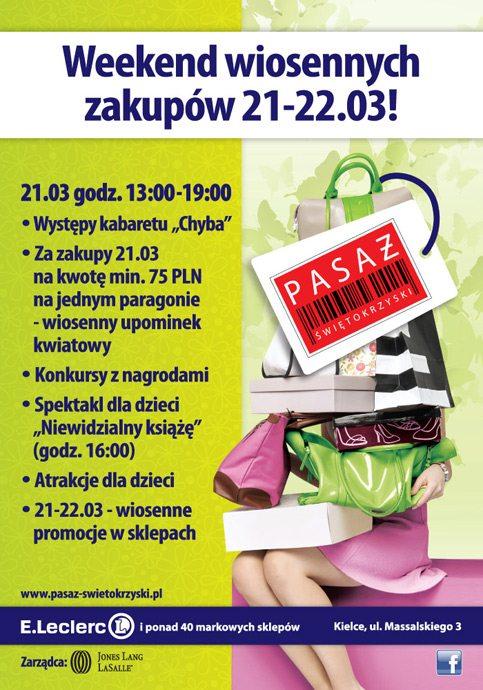 Weekend wiosennych zakupów 21-22.03!