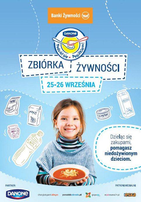 Zbiórka żywność wPasażu Świętokrzyskim